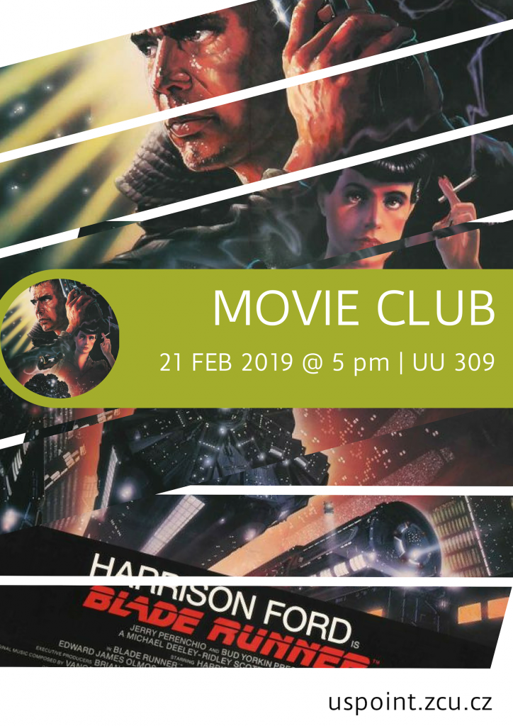 ZČU_US Point_Movie Club - Blade Runner