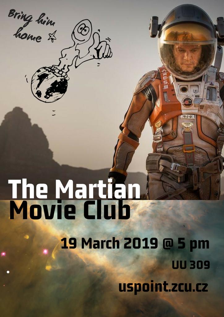 ZČU_US Point_Movie Club - The Martian